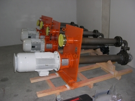 Oil pumps for lubrication of turbogenerators