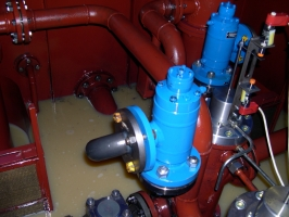 Control valves in hydraulic system